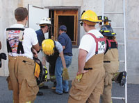 CCC Hosts Fire & Rescue Classes