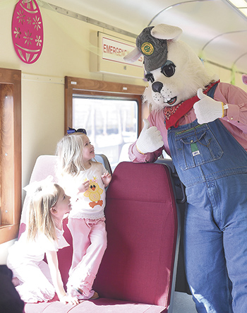 Easter Bunny Express rolls out for 2016
