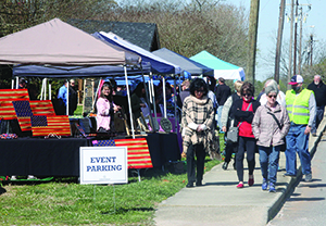 The Lattimore Spring Craft Fair included arts and crafts, home-baked goods, soaps, candles, jewelry and more.
