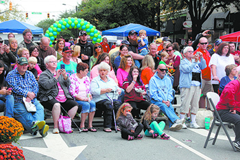 2016 Mush, Music & Mutts Held In Uptown Shelby