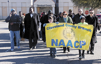 Cleveland County NAACP celebrates Dr. Martin Luther King Jr. Day