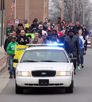 UNITY MARCH HELD IN SHELBY