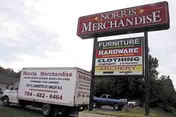 Norris Merchandise has everything you need!