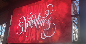 City offers personalized Valentine grams at Patriots Park Feb. 10-14