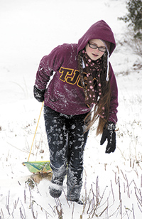 Fun in the snow!!