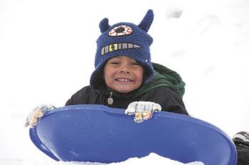 Fun on a snow day!