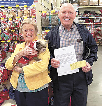 Shelby Amateur Radio Club makes donation to Tri-County Animal Rescue